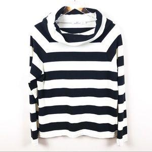 VINEYARD VINES | Cowl Neck Striped Sweater
